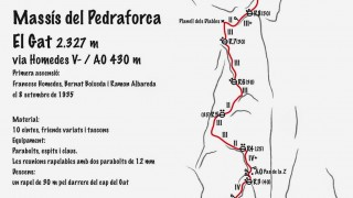 Via Homedes al Gat del Pedraforca