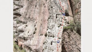 11 MAIG 2015 - PARED D'ESCALES - VIA GARCIA GUTIERREZ  175 m V+ Obligat