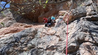 LITTLE TRAGET 105m  V+ A0 (6B)-CINGLE DEL TABAC-MONTROIG